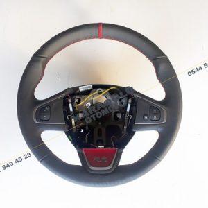 Clio 4 RS Direksiyon Simidi Kırmızı Siyah Der 484004575R