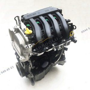 Scenic 2 Komple Motor 1.6 16V Benzinli K4M 812 7701476945 7701477172