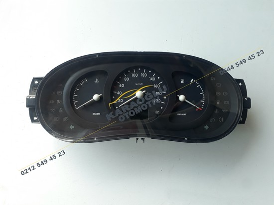 Clio II Kilometre Gösterge Saati 7700410431